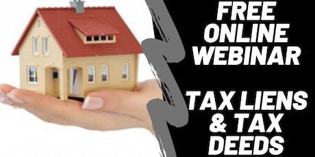 Indiana Tax Lien & Tax Deed Live Webinar tickets