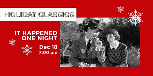 HOLIDAY CLASSICS: It Happened One Night