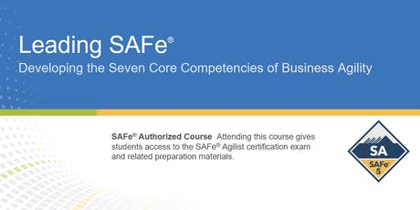 Leading SAFe® 5.0 Certification Training in Toronto, Canada tickets