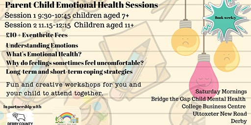Parent and Child Emotional Health Sessions Age 7 -11