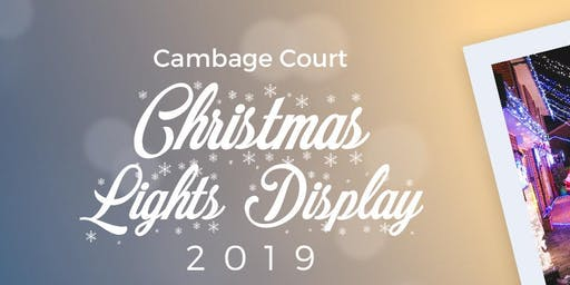 Cambage Court Christmas Lights 2019
