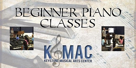Beginner Piano Class - Youth tickets