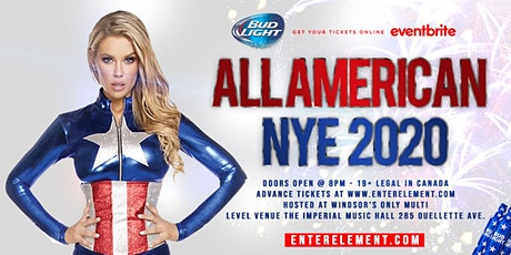 All American NYE 2020 tickets