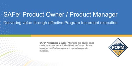 SAFe® Product Owner/Product Manager Certification Training in Montreal, Canada tickets