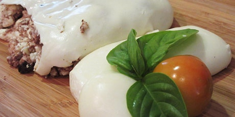 MOZZARELLA & BURRATA Cheese Making  - 2 cheeses in 2 hours tickets