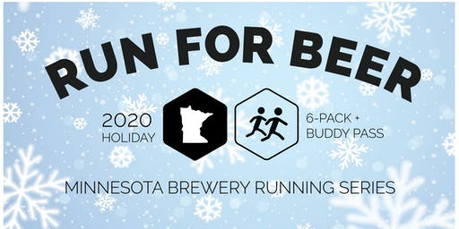 Holiday 6 Pack + FREE Buddy Pass - MN Brewery Running Series 2020