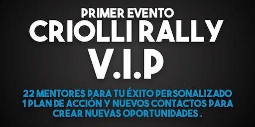 Criolli rally VIP