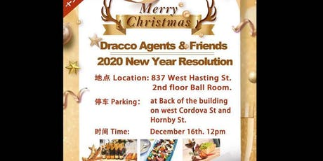 Dracco Agents & Friends 2020 New Year Resolution tickets