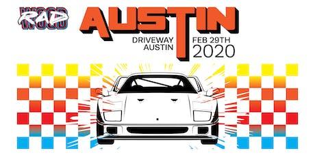 RADwood Austin 2020 - 1980s/1990s Car Show tickets