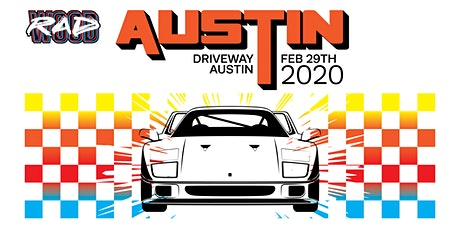 RADwood Austin 2020 - 1980s/1990s Car Show tickets