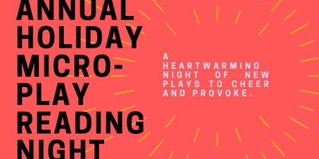 Tiny Bear Jaws' Annual Holiday Micro-Play Reading Night tickets