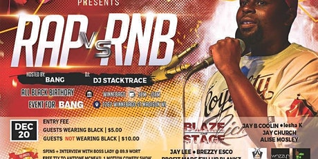 Blaze The Stage All Black Party tickets