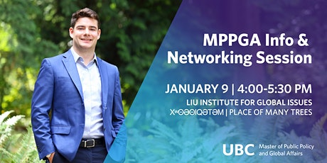 UBC Master of Public Policy and Global Affairs Info & Networking Session tickets