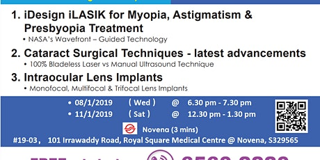 LASIK  &  Cataract  Surgery  Eye  Forum tickets