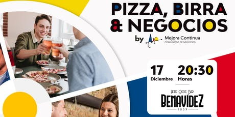 Pizza, Birra y Negocios III entradas