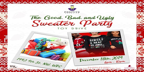 The Good, The Bad, The Ugly Sweater Party & Toy Drive tickets