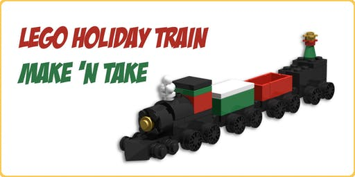 LEGO Holiday Train Make 'n Take