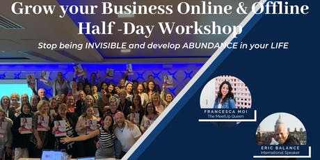 Social Media Half Day Workshop: Become an Expert, go from Invisible to Invincible - Byron Bay! tickets