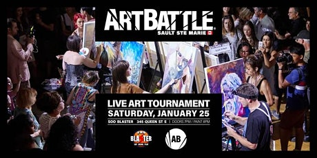 Art Battle Sault Ste. Marie - January 25, 2020 tickets