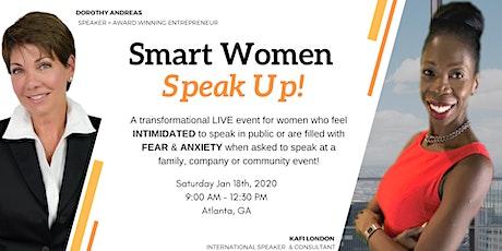Smart Women SPEAK UP! tickets