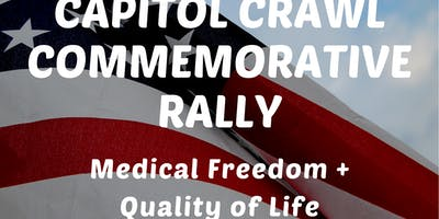 Capitol Crawl Commemorative Rally