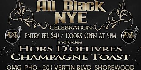 DJ T-BONE'S 2020 ALL BLACK NYE CELEBRATION  tickets
