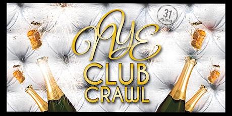 NYE 2020 San Diego Club Crawl to FLUXX - 1 ticket / 3 NYE parties! boletos