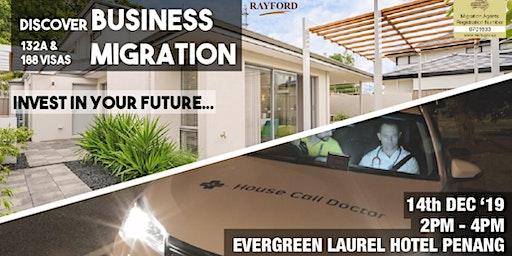 Australia Business & Investment Migration Property Seminar