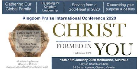 Kingdom Praise International Conference 2020 tickets
