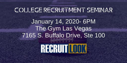 College Recruitment Seminar (FREE)