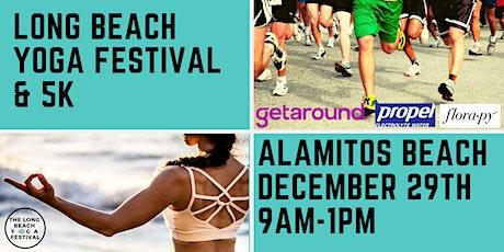 The Long Beach Yoga Festival & 5k tickets
