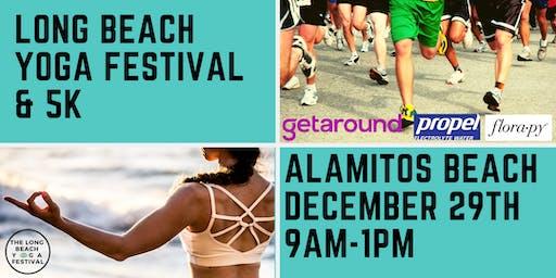 The Long Beach Yoga Festival & 5k