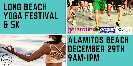 The Long Beach Yoga Festival & 5k