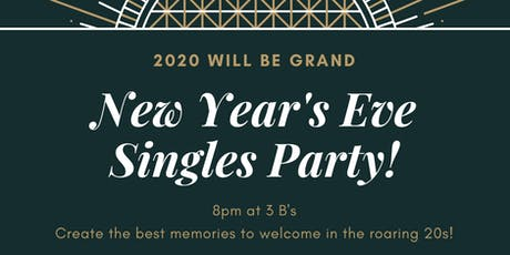 Singles New Year's Eve Party tickets