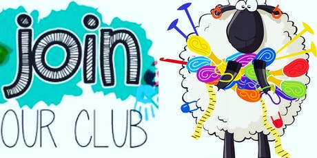 Thursday Evening Knitting & Crochet Club - New Members Welcome tickets
