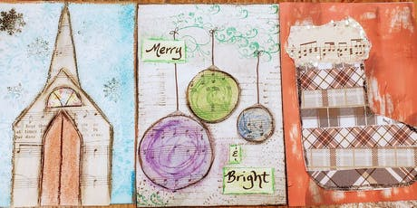 Mixed Media Holiday Cards tickets