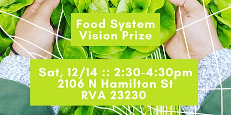 Food System Vision Event tickets