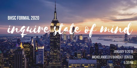 BHSc FORMAL 2020: Inquire State of Mind tickets
