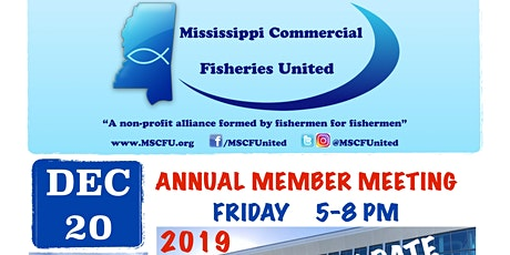 MSCFUnited's 2019 Annual Member Meeting & Dinner tickets