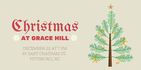 Christmas at Grace Hill tickets