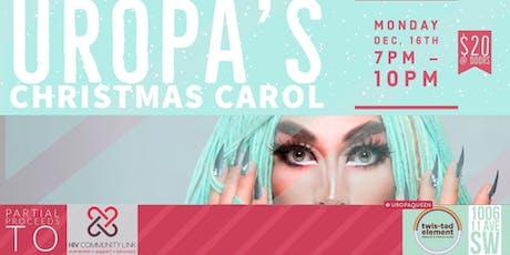 Uropa's Christmas Carol tickets