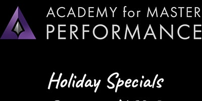 AMP TRAININGS HOLIDAY SPECIALS