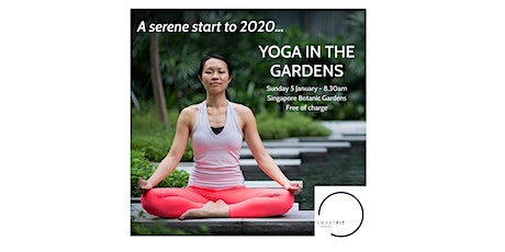 Yoga In The Gardens tickets