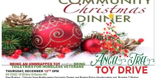 Community Christmas Dinner - SPOKEN WORD & SOUL FOOD