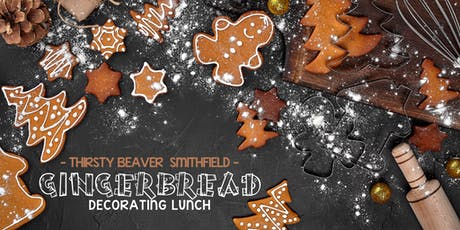 Holiday Gingerbread Decorating Lunch tickets