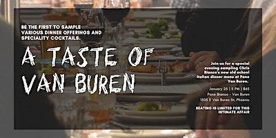 Taste of Van Buren  Bianco Style