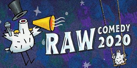 RAW Comedy Heats Darwin tickets