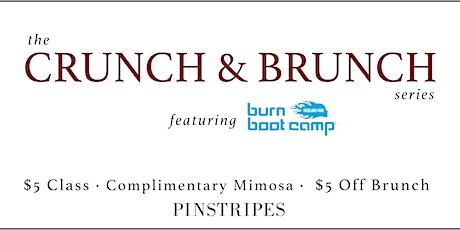 Crunch & Brunch at Pinstripes Overland Park tickets