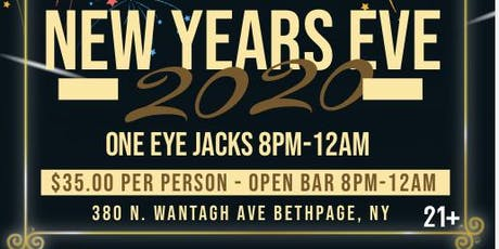 Drag In The New Year At One Eye Jacks  tickets