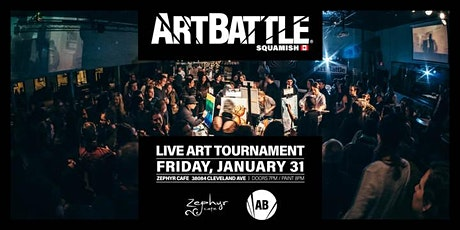 Art Battle Squamish - January 31, 2020 tickets